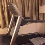 Odd treadmill in the room?