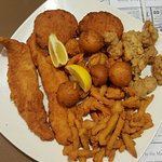 fried seafood combo