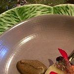 Smoked King Salmon, Morel, Gravenstein Apple, Alaria Kelp Sauce