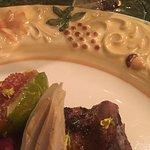 Duck Breast, Duck Leg Confit, Duck Foie Gras & Onion Terrine, Roasted Fig