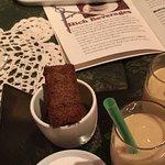 Surprise Dessert Tray - including an amazing Beeswax & Peach Milkshake!