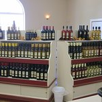 Wines offered for tasting and sale