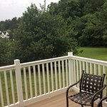 Looking from the outside deck area.