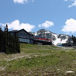 The Rendezvous Lodge from Solar Coaster Chairlift