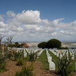 Splendid views of the ocean below from Fort Rosecrans, the final place for thousands of military