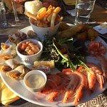 Assiette de la mer 18€