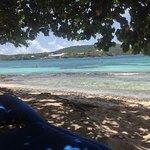 Views of beach at Sugar bay