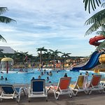 Great camping river side. Even has an awesome pool and slides to enjoy on the hot days.