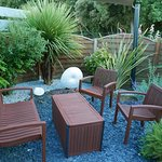 Aménagement du jardin d'été