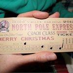 North Pole Express Ticket