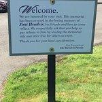 Tombe de Jimmy Hendrix