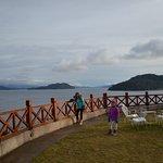 Terraza al lago Nahuel Huapi