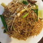Thai Cuisine Pad Thai Beef
