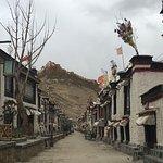 Gyangze Old Street Foto