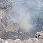 Pohled do nitra kráteru