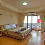 Superior Balcony Rooms are large & comfortable!