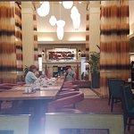 Breakfast area looking towards lobby
