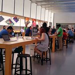 Apple store, accessory section