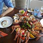 Seafood Temple Platter