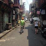 Mit dem Fahrrad durch Shanghai