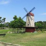公園の風車