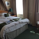 Lovely large superior room, a huge extremely comfortable bed.