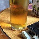 A pint before dinner.