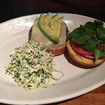 Lunch menu, Thai Steak &Noodle Salad & California burger