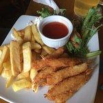 Breaded shrimp