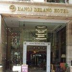 Deli Restaurant on the left side of Delano Hotel
