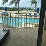 Pool and Turtle Cove from Room