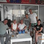 Reggie and Turgut with guests.
