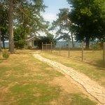 Path to Weathervane Cottage