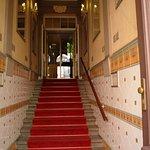 Towards the main door