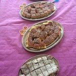 Desserts: siwa, aish lsaraya, nammoura