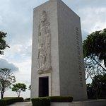 Memorial in American Cemetary