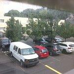View facing carpark