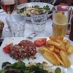 Tartare / salade césar