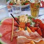 assiette fraîcheur / salade césar