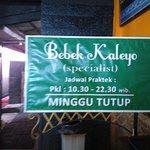 Foto de Bebek Kaleyo Rawa Buntu