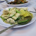 Fillet of Fish with Ginger and Spring Onions