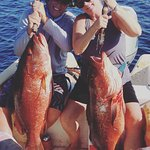 Double hookup - Dogtooth snapper