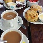 Mini cream tea for two