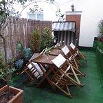 terrace outside breakfast room