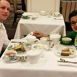 Our sandwiches, delicious--photo taken by attentive server