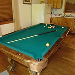 The cabin i rented had a pool table.