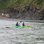 Kayaking at Port Quin