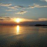 Inesquecível! Pôr-do-sol área de igapó.