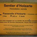 Photo de Passerelle d'Holzarte