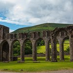 Hatterall Hill - backdrop for Llanthony Priory